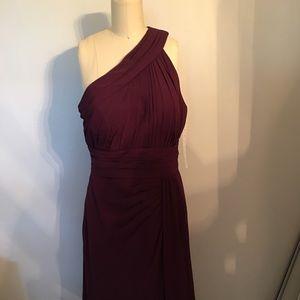 Bridesmaid dress,Eggplant color, brand new